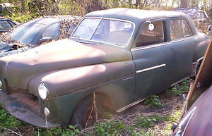 49 Dodge Coronet 4dr Parting Out Many Parts