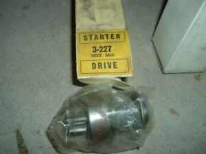 1962 76 Mopar Dodge Plymouth 4spd Starter Bendix Drive Unit Charger Coronet