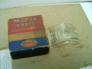 Mopar Nos Back up Lamp Lens 53 Custom Imperial