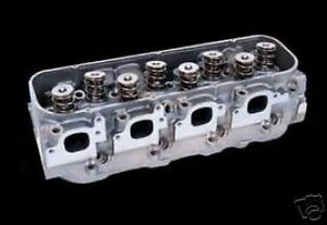 Iron Eagle Bbc Complete Heads 15200132 Free Dart Chrome Plated Valve Covers