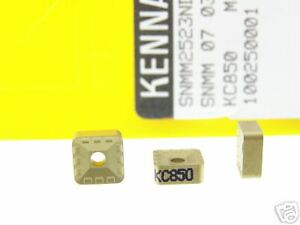 30 Kennametal Snmm 2 523nd Kc850 Carbide Inserts O179s