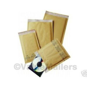 75 Combo Bubble Mailers 6 Sizes 0 1 2 3 4 5