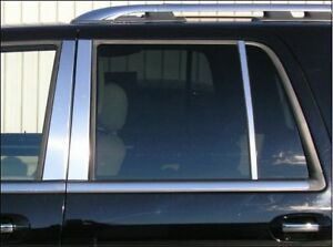 Chrome Door Pillars Fits Ford Expedition 1998 2002