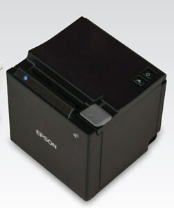 Epson Tm m10 Compact Pos 2 Usb Thermal Pos Receipt Printer Black Restaurant New