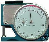 1 2 Pocket Dial Thickness Gage Gauge Paper Mic Micrometer Accuracy 0 001