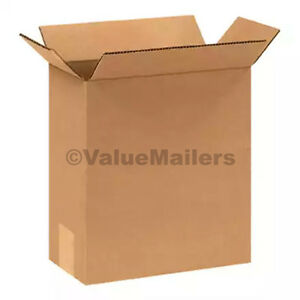 25 12x12x10 Cardboard Shipping Boxes Cartons Packing Moving Mailing Box