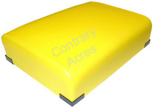 Restoration Quality Yellow Seat Cushion John Deere 520 530 620 630 720 730