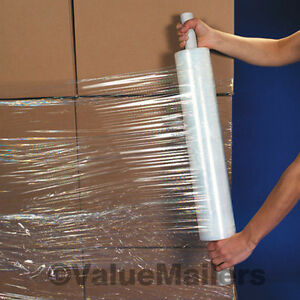 18 X 1500 Shrink Wrap Stretch Banding Film 90 Gauge