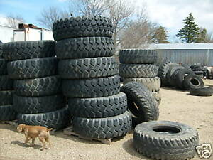 1600x20 Goodyear At 2a Unisteel Radial Military Tire Scrapers Tires