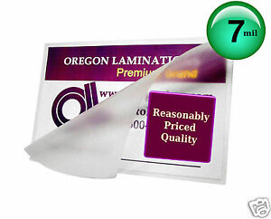 Hot Laminating Pouches 8 1 4 X 10 1 4 pk Of 100 Fits 8x10 Photos Clear 7 Mil