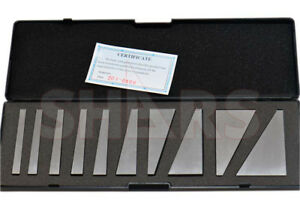 Out Of Stock 90 Days Shars 10 Pcs Machinist Ground Angle Blocks Set 1 30 Degre