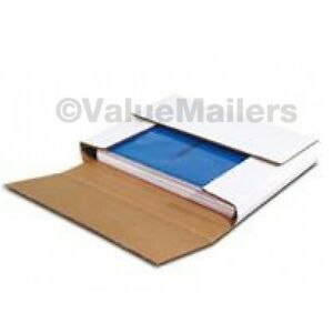 50 Premium Lp Record Album Book Or Box Mailers