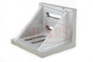 Shars 002 Webbed Slotted Angle Plate 12 X 9 X 8 High Tensile Cast Iron New