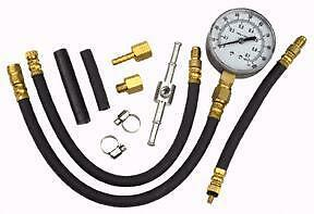 Fuel Injection Pump Tester Test Injector Pressure Gauge