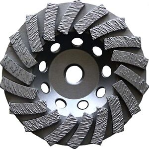 4 5 Diamond Cup Wheel For Coating Epoxy Mastics And Paint Removal