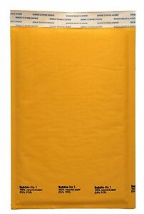 300 1 Kraft Bubble Padded Envelopes Mailer 7 25 X 12