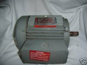 1 hp 3 phase electric ac motor 1hp 3ph 230 460 3