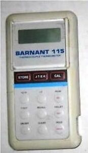 Barnant Thermocouple Thermometer Model 115 600 2810