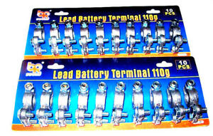 20 Heavy Duty Lead Top Post Battery Terminals