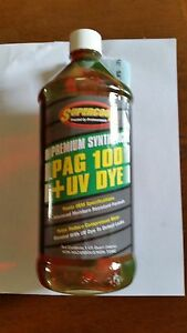 Supercool Pag 100 Oil With Uv Dye 32 Oz Bottle