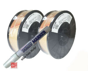 030 E71t gs Flux Cored Gasless Welding Wire 2 X 10 Lb Usa Made