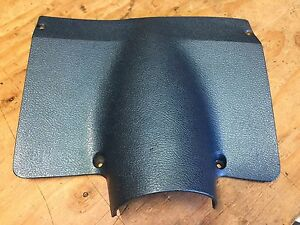 1968 Chevelle El Camino Ss Under Dash Column Trim Plate Gm Light Blue 3919937