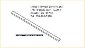 Drum Cleaning Blade For Oce Tds Plotters