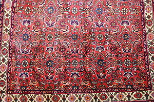 C1930s Antique High Kpsikork Wool Classic Village Prsian Bijar Rug 2 4x3 2