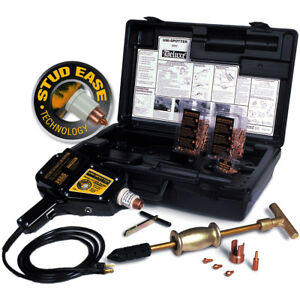 H s Autoshot Uni spotter 9000 Deluxe Stud Welder Kit With Free Shipping
