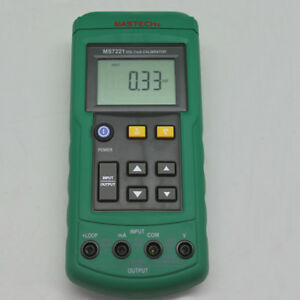 Mastech Ms7221 Volt ma Calibrator Compared W Fluke 715