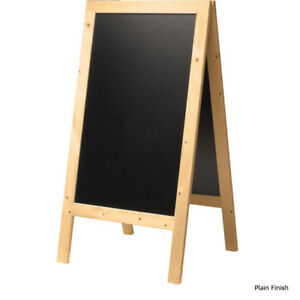 Double sided Restaurant Sidewalk Menu Board 30 X 54 Sign Display Advertising