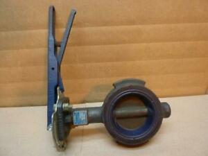 Nibco Butterfly Valve Wd2000 Used 29542