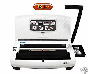 Akiles Iwire 21 Wire Binding Machine Punch 2 1 Pitch New Aiw 21