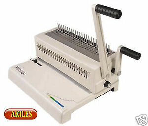 Akiles Megabind 1 Comb Binding Machine Punch 14 inch new Amb 1 With Warranty