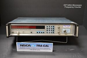 Eip Model 545a Microwave Frequency Counter W Opt 08