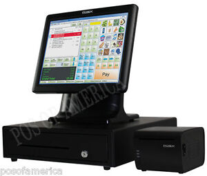 Pcamerica Pos System Rpe Pro Restaurant Pos x Ion Fit All in one Bundle New