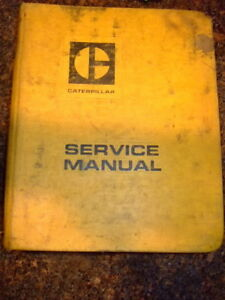 Cat 621 Tractor Scraper Service Manual