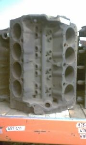Chevy 327 Engine Block Corvette 3914678 1968 68 Gm