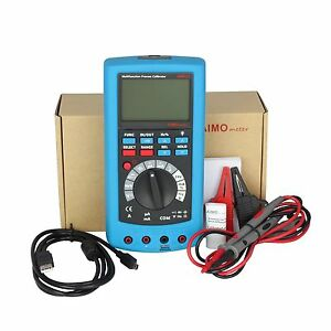 Ampx1 2in1 Lcd Digital High Accuracy Process Calibrator With Multimeter Dmm New