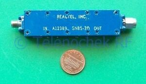 Rf If Microwave Bandpass Filter 6 1 Ghz 650 Mhz Bw Data