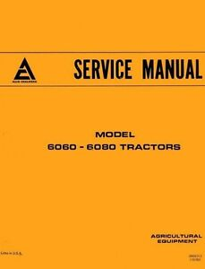 Allis Chalmers 6060 6080 Tractor Service Manual