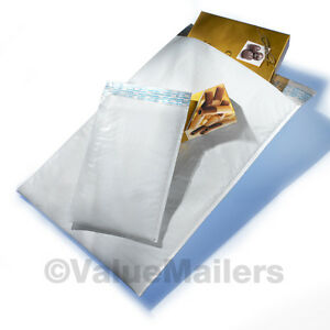 50 Combo Poly Bubble Mailers 5 Sizes 1 2 3 4 5