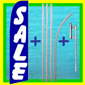 Sale 15 Tall Flag Kit Feather Swooper Flutter Banner