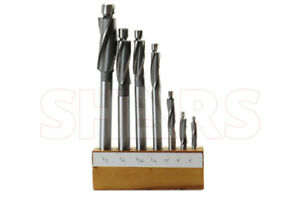 Shars Tools 6 8 10 1 4 1 2 7pcs Cobalt Counterbore Set