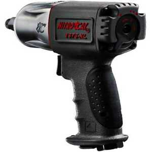Aircat 1375 Xl 1 2 Nitro Cat Mini Composite Impact Wrench Gun Twin Clutch
