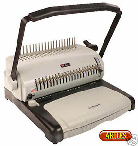 Akiles Ecobind c Comb Binding Machine Punch 12 inch new