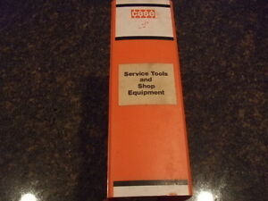 Case Service Tools And Shop Equipment Manual