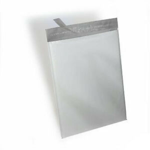250 19x24 White Poly Mailers Shipping Envelopes Bags 2 5 Mil 100 Recyclable