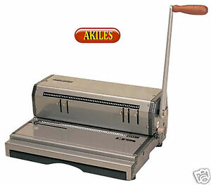 Akiles Coilmac m Coil Binding Machine Punch 13 inch 4 1 Pitch new