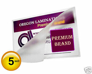 1000 Pc 5 Mil Drivers License Hot Laminating Pouches 2 3 8 X 3 5 8 Clear